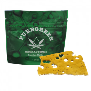 Pure Green Extractions Premium Shatter 1g